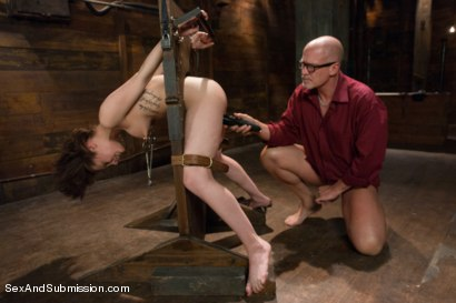 Photo number 9 from FOREIGN EXCHANGE SLAVE! French Student Suffers in Sexual Punishment! shot for Sex And Submission on Kink.com. Featuring Mark Davis and Nikita Bellucci in hardcore BDSM & Fetish porn.