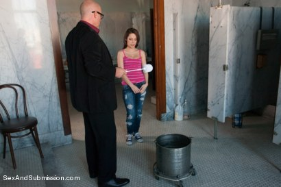 Photo number 3 from FOREIGN EXCHANGE SLAVE! French Student Suffers in Sexual Punishment! shot for Sex And Submission on Kink.com. Featuring Mark Davis and Nikita Bellucci in hardcore BDSM & Fetish porn.