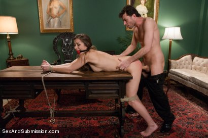 Photo number 8 from Private Meetings: The Submission of Dani Daniels shot for Sex And Submission on Kink.com. Featuring James Deen and Dani Daniels in hardcore BDSM & Fetish porn.