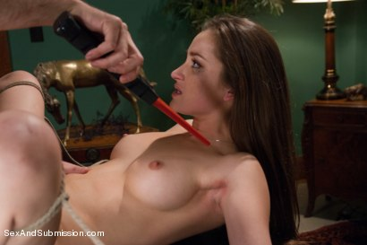 Photo number 12 from Private Meetings: The Submission of Dani Daniels shot for Sex And Submission on Kink.com. Featuring James Deen and Dani Daniels in hardcore BDSM & Fetish porn.