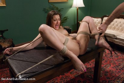 Photo number 11 from Private Meetings: The Submission of Dani Daniels shot for Sex And Submission on Kink.com. Featuring James Deen and Dani Daniels in hardcore BDSM & Fetish porn.