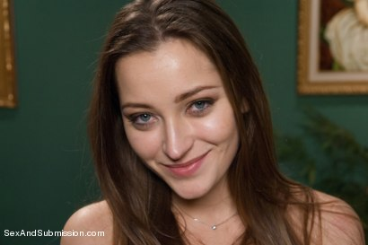 Photo number 15 from Private Meetings: The Submission of Dani Daniels shot for Sex And Submission on Kink.com. Featuring James Deen and Dani Daniels in hardcore BDSM & Fetish porn.