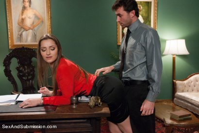 Photo number 2 from Private Meetings: The Submission of Dani Daniels shot for Sex And Submission on Kink.com. Featuring James Deen and Dani Daniels in hardcore BDSM & Fetish porn.