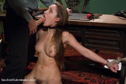 Photo number 6 from Private Meetings: The Submission of Dani Daniels shot for Sex And Submission on Kink.com. Featuring James Deen and Dani Daniels in hardcore BDSM & Fetish porn.