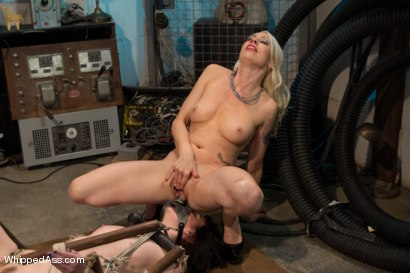 Photo number 7 from Lesbian Programming shot for Whipped Ass on Kink.com. Featuring Lorelei Lee and Coral Aorta in hardcore BDSM & Fetish porn.