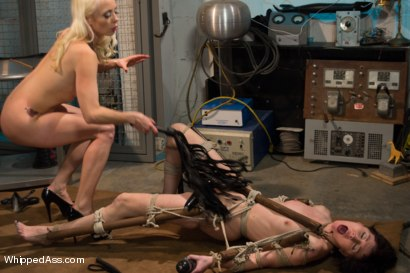 Photo number 8 from Lesbian Programming shot for Whipped Ass on Kink.com. Featuring Lorelei Lee and Coral Aorta in hardcore BDSM & Fetish porn.