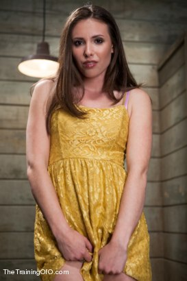 Photo number 2 from The Training of the Pretty Girl, Day One shot for The Training Of O on Kink.com. Featuring Casey Calvert in hardcore BDSM & Fetish porn.