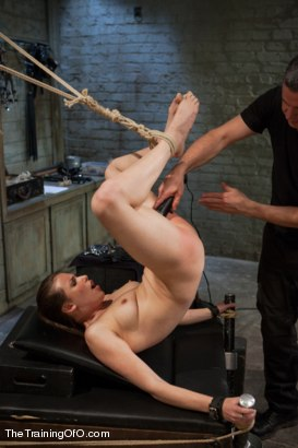 Photo number 12 from The Training of the Pretty Girl, Day One shot for The Training Of O on Kink.com. Featuring Casey Calvert in hardcore BDSM & Fetish porn.