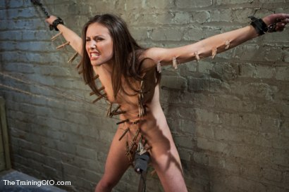 Photo number 4 from The Training of the Pretty Girl, Day One shot for The Training Of O on Kink.com. Featuring Casey Calvert in hardcore BDSM & Fetish porn.