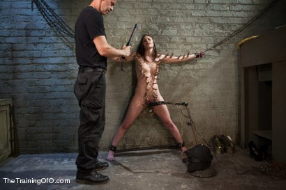 Photo number 3 from The Training of the Pretty Girl, Day One shot for The Training Of O on Kink.com. Featuring Casey Calvert in hardcore BDSM & Fetish porn.