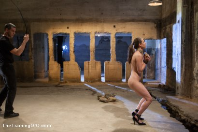 Photo number 2 from The Training of the Pretty Girl, Day Two shot for The Training Of O on Kink.com. Featuring Casey Calvert  and Michael Ambrose in hardcore BDSM & Fetish porn.