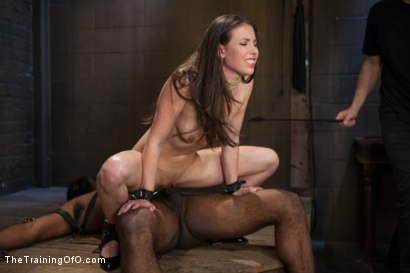 Photo number 10 from The Training of the Pretty Girl, Day Two shot for The Training Of O on Kink.com. Featuring Casey Calvert  and Michael Ambrose in hardcore BDSM & Fetish porn.