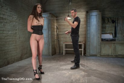 Photo number 3 from Training of the Pretty Girl, Day Three shot for The Training Of O on Kink.com. Featuring Casey Calvert and Owen Gray in hardcore BDSM & Fetish porn.