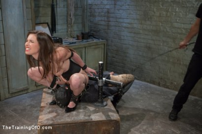 Photo number 8 from Training of the Pretty Girl, Day Three shot for The Training Of O on Kink.com. Featuring Casey Calvert and Owen Gray in hardcore BDSM & Fetish porn.