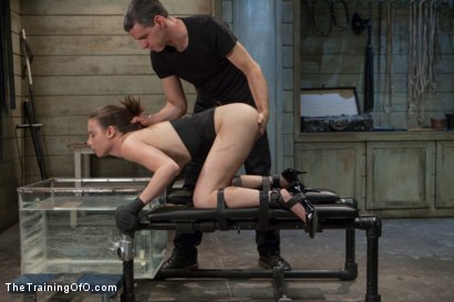 Photo number 12 from Training of the Pretty Girl, Day Three shot for The Training Of O on Kink.com. Featuring Casey Calvert and Owen Gray in hardcore BDSM & Fetish porn.