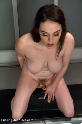 Photo number 5 from Full bodied Girl, Full bodied Fucked by Machines shot for Fucking Machines on Kink.com. Featuring Tessa Lane in hardcore BDSM & Fetish porn.