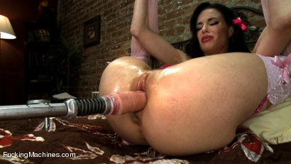 Photo number 12 from Want her cookie? Squirting MILF whips up machine orgasms in her Kitchen shot for Fucking Machines on Kink.com. Featuring Veronica Avluv in hardcore BDSM & Fetish porn.
