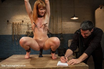 Photo number 3 from The Training of Claire Robbins, Day One shot for The Training Of O on Kink.com. Featuring Claire Robbins in hardcore BDSM & Fetish porn.