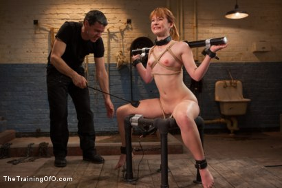 Photo number 3 from The Training of Claire Robbins, Day Three shot for The Training Of O on Kink.com. Featuring Owen Gray and Claire Robbins in hardcore BDSM & Fetish porn.