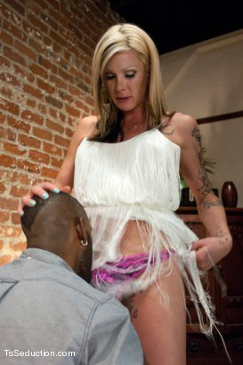 Photo number 4 from Your Web Cam will get you Punished: Nothing is Free shot for TS Seduction on Kink.com. Featuring Morgan Bailey and Kris Lorenzo in hardcore BDSM & Fetish porn.