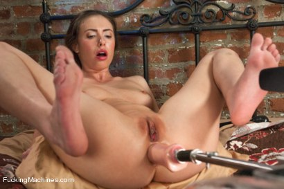 Photo number 13 from FIFTY SEVEN ORGASMS - And Yes, she is still Alive. shot for Fucking Machines on Kink.com. Featuring Casey Calvert in hardcore BDSM & Fetish porn.