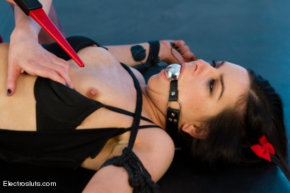 Photo number 1 from High voltage electro-domination! Juliette March and Lorelei Lee shot for Electro Sluts on Kink.com. Featuring Lorelei Lee and Juliette March in hardcore BDSM & Fetish porn.