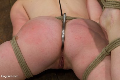Photo number 8 from Jodi Taylor: Eager slut elaborately bound, caned, zapped and fucked! shot for Hogtied on Kink.com. Featuring Jodi Taylor in hardcore BDSM & Fetish porn.