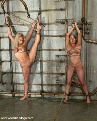 Photo number 10 from Victoria Sweet and Mia Bangg shot for Water Bondage on Kink.com. Featuring Mia Bangg and Victoria Sweet in hardcore BDSM & Fetish porn.