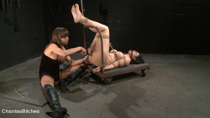 Photo number 5 from Bondage Slut Next Door shot for Chantas Bitches on Kink.com. Featuring Penny Barber and Nika Noire in hardcore BDSM & Fetish porn.