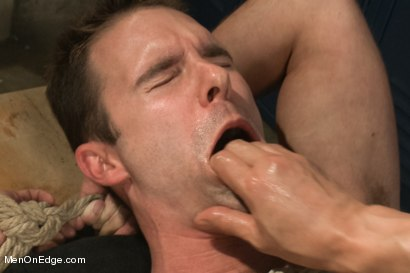 Photo number 14 from Captured Baseball Stud gets Edged in the Locker Room shot for Men On Edge on Kink.com. Featuring Cameron Kincade in hardcore BDSM & Fetish porn.