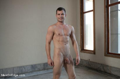 Photo number 14 from Hot Stud Hayden Richards Bound and Edged for First Time shot for Men On Edge on Kink.com. Featuring Hayden Richards in hardcore BDSM & Fetish porn.