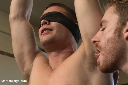 Photo number 2 from Hot Stud Hayden Richards Bound and Edged for First Time shot for Men On Edge on Kink.com. Featuring Hayden Richards in hardcore BDSM & Fetish porn.