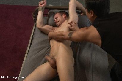Photo number 13 from Hot Stud Hayden Richards Bound and Edged for First Time shot for Men On Edge on Kink.com. Featuring Hayden Richards in hardcore BDSM & Fetish porn.
