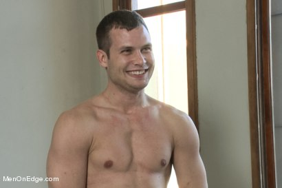 Photo number 15 from Hot Stud Hayden Richards Bound and Edged for First Time shot for Men On Edge on Kink.com. Featuring Hayden Richards in hardcore BDSM & Fetish porn.