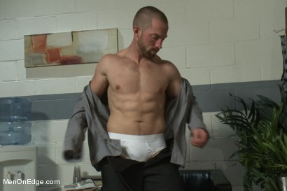 Photo number 2 from Special Four Hand Massage  shot for Men On Edge on Kink.com. Featuring Adam Herst in hardcore BDSM & Fetish porn.