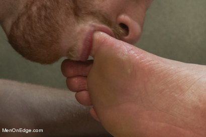 Photo number 10 from Special Four Hand Massage  shot for Men On Edge on Kink.com. Featuring Adam Herst in hardcore BDSM & Fetish porn.