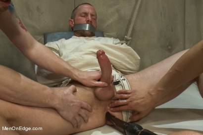 Photo number 15 from Special Four Hand Massage  shot for Men On Edge on Kink.com. Featuring Adam Herst in hardcore BDSM & Fetish porn.