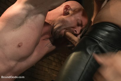 Photo number 8 from Dungeon Date shot for Bound Gods on Kink.com. Featuring Leo Forte and Mitch Vaughn in hardcore BDSM & Fetish porn.