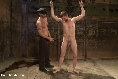 Photo number 9 from Officer Stevens and The Masked Burglar - Nowhere to Run shot for Bound Gods on Kink.com. Featuring Jeremy Stevens and Dayton O'Connor in hardcore BDSM & Fetish porn.