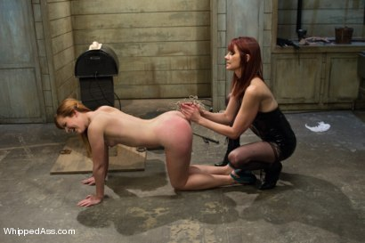 Photo number 2 from Dirty Confessions: Live Lesbian BDSM  shot for Whipped Ass on Kink.com. Featuring Claire Robbins and Maitresse Madeline Marlowe in hardcore BDSM & Fetish porn.