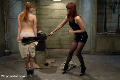 Photo number 1 from Dirty Confessions: Live Lesbian BDSM  shot for Whipped Ass on Kink.com. Featuring Claire Robbins and Maitresse Madeline Marlowe in hardcore BDSM & Fetish porn.