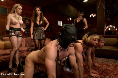 Photo number 5 from CAUTION: EXTREME FEMDOM HUMILIATION! Live Sissy/Bisexual humiliation shot for Divine Bitches on Kink.com. Featuring Aiden Starr, Sean Spurt, Francesca Le , Maitresse Madeline Marlowe , Alex Adams, Lea Lexis and Jason Miller in hardcore BDSM & Fetish porn.