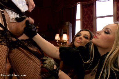 Photo number 1 from CAUTION: EXTREME FEMDOM HUMILIATION! Live Sissy/Bisexual humiliation shot for Divine Bitches on Kink.com. Featuring Aiden Starr, Sean Spurt, Francesca Le , Maitresse Madeline Marlowe , Alex Adams, Lea Lexis and Jason Miller in hardcore BDSM & Fetish porn.