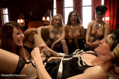 Photo number 9 from CAUTION: EXTREME FEMDOM HUMILIATION! Live Sissy/Bisexual humiliation shot for Divine Bitches on Kink.com. Featuring Aiden Starr, Sean Spurt, Francesca Le , Maitresse Madeline Marlowe , Alex Adams, Lea Lexis and Jason Miller in hardcore BDSM & Fetish porn.