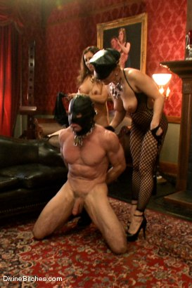 Photo number 15 from CAUTION: EXTREME FEMDOM HUMILIATION! Live Sissy/Bisexual humiliation shot for Divine Bitches on Kink.com. Featuring Aiden Starr, Sean Spurt, Francesca Le , Maitresse Madeline Marlowe , Alex Adams, Lea Lexis and Jason Miller in hardcore BDSM & Fetish porn.