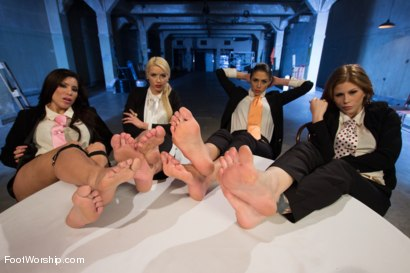 Photo number 1 from Reservoir Paws: 8 Feet and 40 Toes shot for Foot Worship on Kink.com. Featuring Brooklyn Lee, Aleksa Nicole, Anna Morna, Alan Stafford and Anikka Albrite in hardcore BDSM & Fetish porn.