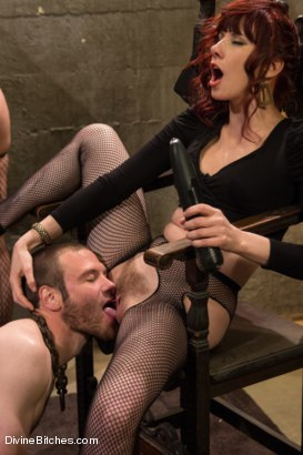 Photo number 11 from Milked To The Very Last Drop! shot for Divine Bitches on Kink.com. Featuring Maitresse Madeline Marlowe , Gia DiMarco, Chanel Preston and Jesse Carl in hardcore BDSM & Fetish porn.