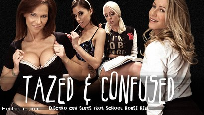 Tazed & ConfusedAn Electrosluts Feature