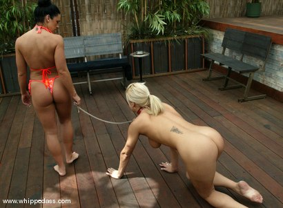 Photo number 6 from Cherokee and Mia Bangg shot for Whipped Ass on Kink.com. Featuring Cherokee and Mia Bangg in hardcore BDSM & Fetish porn.