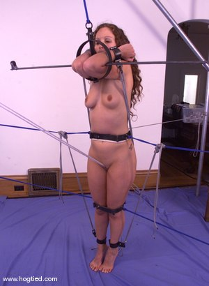 Photo number 14 from Amber shot for Hogtied on Kink.com. Featuring Amber in hardcore BDSM & Fetish porn.